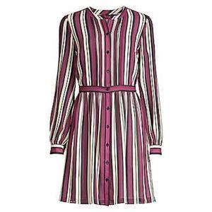 Michael Kors pintuck shirt dress